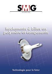 Roulements à billes en polymère et composants - Corsairsarl.com