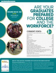 high SChooL - The Greater Austin Chamber of Commerce