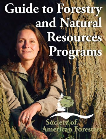 Guide to Forestry and Natural Resources Programs - Society of ...