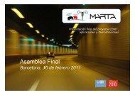 Proyecto MARTA: Asamblea Final