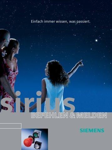 Sirius Befehlen & Melden - Siemens
