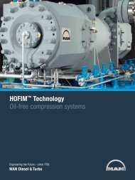 HOFIM™ Technology Oil-free compression ... - MAN Diesel & Turbo