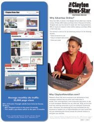 Why Advertise Online? - The News & Observer