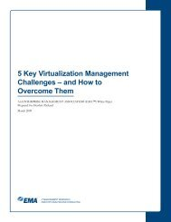 5 Key Virtualization Management Challenges – and ... - Zift Solutions
