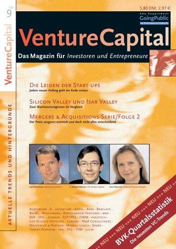 Unternehmermagazin - 7/8 2001 - Klein & Coll.