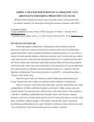 směry a cíle šlechtění rostlin na odolnost vůči abiotickým stresorům ...