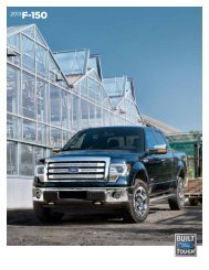2013 Ford F-150 Brochure - ClickMotive