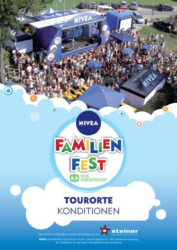 TOURORTE KONDITIONEN - STEINER Familyentertainment