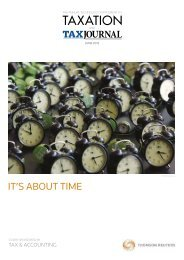 Download our 2012 supplement covering the latest in tax ... - Taxation