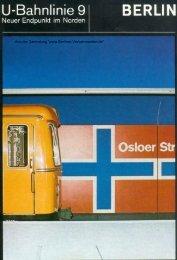 zur Streckenverlängerung der U9 nach Osloer Strasse (1976), pdf 2 ...