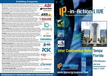 Tampa Prospectus - IP UserGroup