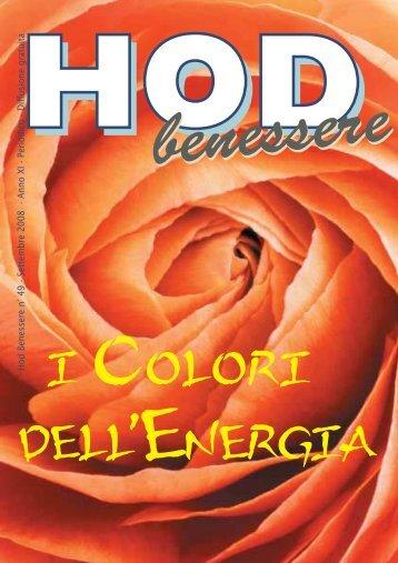 Hod Benessere n° 49 - Settembre 2008 - Anno XI - Periodico ...