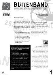 buitenband - Chiro