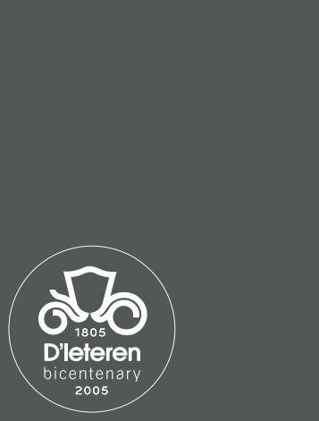 Rapport financier - D'Ieteren