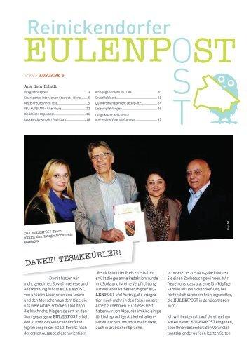 Webversion der Eulenpost, Ausgabe 3 - Grundschule am Schäfersee
