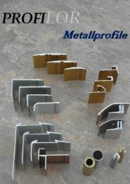 Profilor Schienen und Profile - allfloors