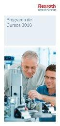 Programa de Cursos 2010 - Bosch Rexroth