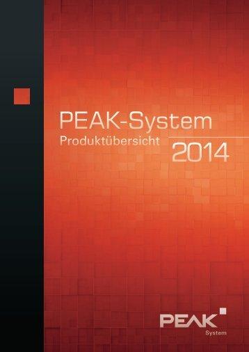 Deutsch - PEAK-System