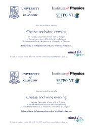 Cheese and wine evening Cheese and wine evening - University of ...