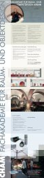 fachakademie für raum- und objektdesign cham - Bezirk Oberpfalz
