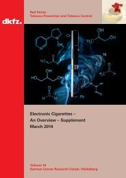 Band_19_e-cigarettes_an_overview_supplement_March_2014