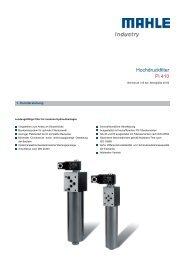 Hochdruckfilter Pi 410