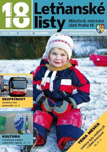 Letňanské listy 02/2011