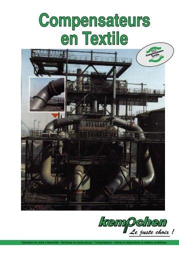 Compensateurs en Textile