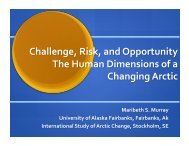 Download PDF (3.99 MB) - State of the Arctic 2010