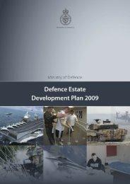 Defence Estates Development Plan 2009 PDF - Ministry of Defence