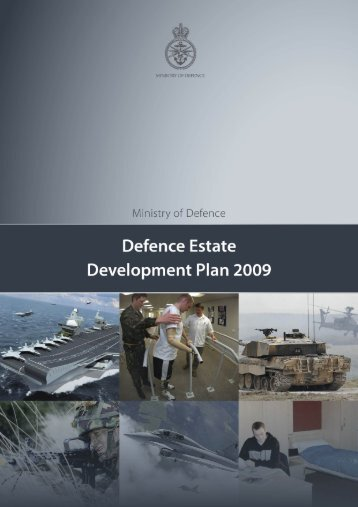 Defence Estates Development Plan 2009 PDF - Ministry of Defence