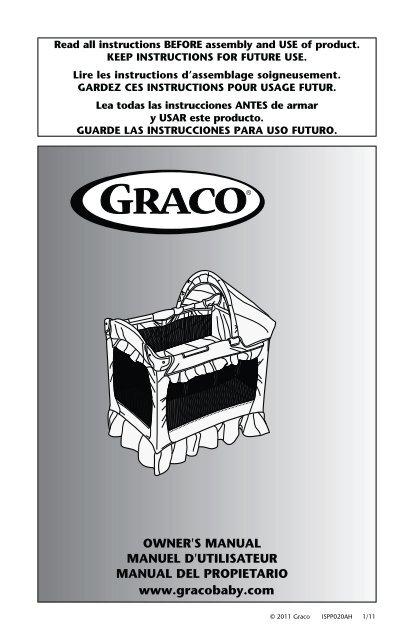OWNER'S MANUAL MANUEL D'UTILISATEUR MANUAL ... - Graco