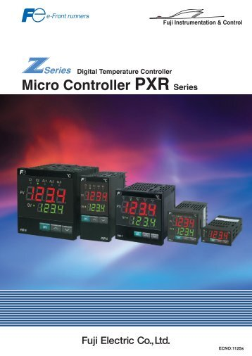 Micro Controller PXR Series - Fuji Electric Corp. of America