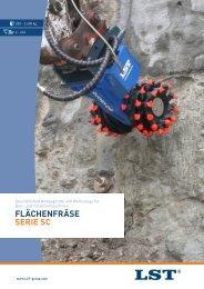 FLächenFräSe Serie Sc - Bentrup GmbH
