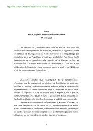 2008_revision_consti.. - Académie des sciences morales et politiques