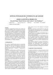 sistema integrado de controlo da qualidade apoio à gestão da ...