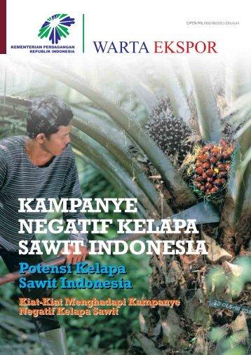 kampanye negatif kelapa sawit indonesia - Directorate General for ...