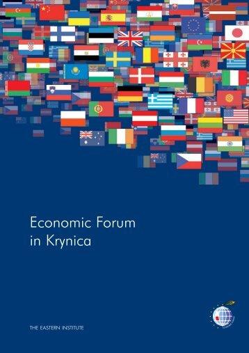 Economic Forum - Weimarer Dreieck