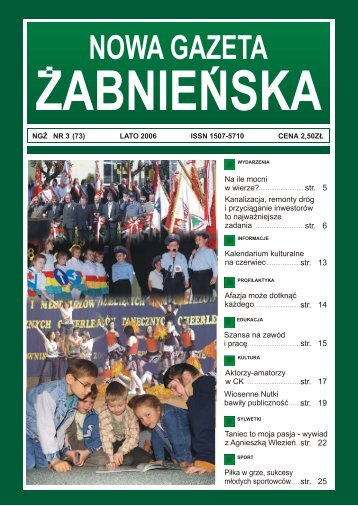 Otwórz nr 3/2006 NGŻ, plik .pdf, 1,0MB