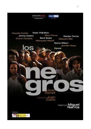 Dosier Los Negros - Aula de las Artes