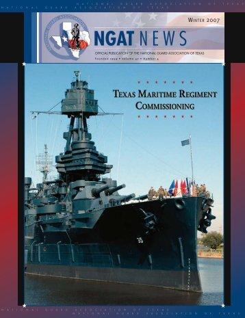 NGAT Magazine - Winter 2007 - National Guard Association of Texas