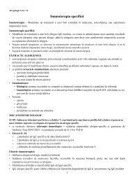 Imunoterapia specifică - OvidiusMD