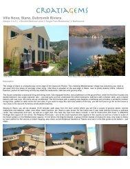 Villa Nova, Slano, Dubrovnik Riviera - CroatiaGems