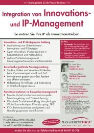 und Ip-Management - Management Circle AG