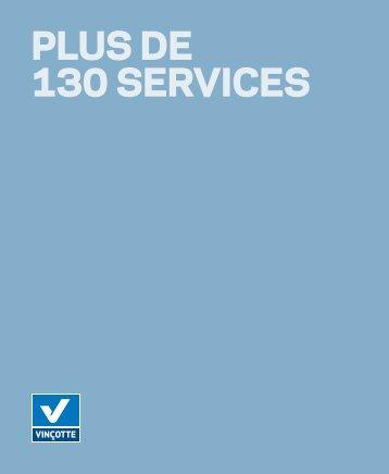 PLUS DE 130 SERVICES - Vinçotte
