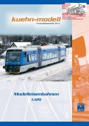 Modelleisenbahnen - Modellbahnstation