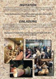 INVITATION EINLADUNG - Willy Vanhoutte