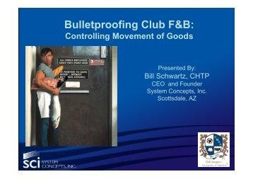CMAA-Bulletproof - Movement of Goods Webinar