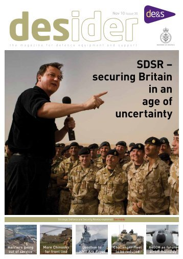 desider - Issue 30 - November 2010 PDF  - Ministry of Defence