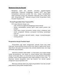 1 Manajemen Hama dan Penyakit Manajemen hama dan penyakit ...